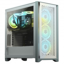 Corsair CC-9011201-WW BT iCUE 4000D AIRFLOW Tempered ATX Blanc