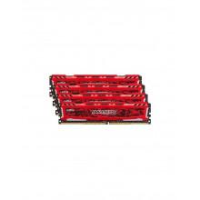 Ballistix Sport LT Red DDR4 2400MHz 4x16Go