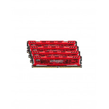 RAM Ballistix Sport LT Red DDR4 2400MHz 4x16Go
