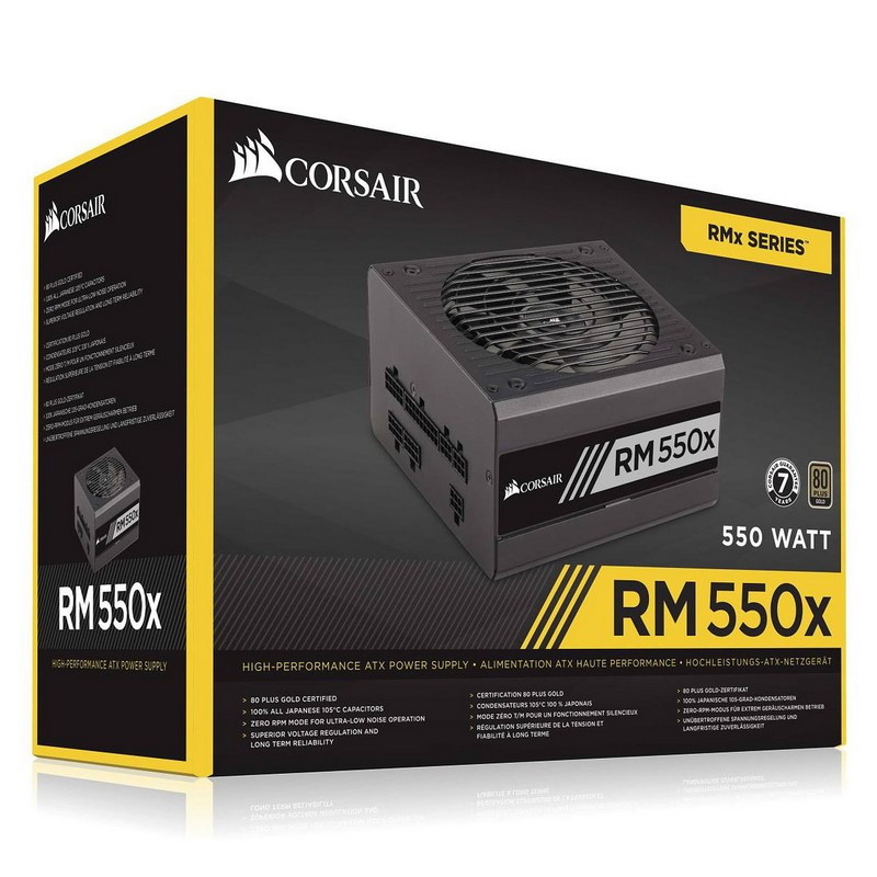 Corsair RM550x V2 80PLUS Gold