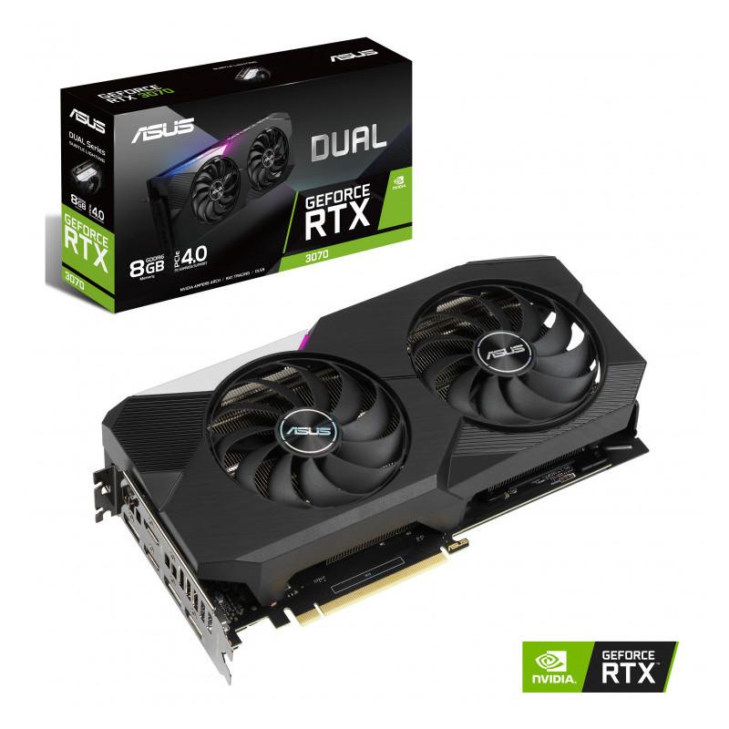 ASUS GeForce RTX 3070 Dual 8GB GDDR6 PCI-Express Graphics Card