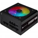 Corsair CX Series CX550F RGB — Bloc d'alimentation entièrement modulaire RGB certifié 80 Plus Bronze 550 watts (EU)