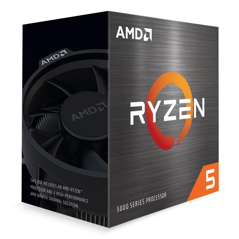 AMD RYZEN5 5600X Socket AM4 4.6Ghz 100-100000065MPK Mult-Pack