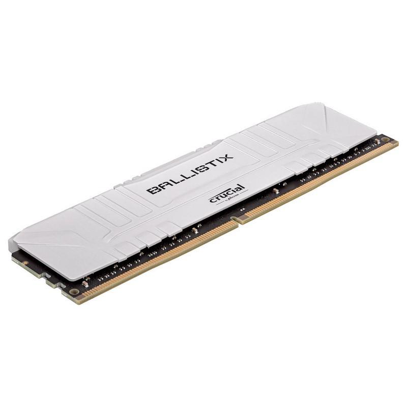 Ballistix White 16 Go (1 x 16 Go) DDR4 3000 MHz CL15