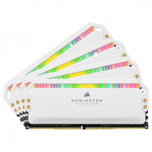 Corsair Dominator Platinum RGB 32 Go (4 x 8 Go) DDR4 3600 MHz CL18 - Blanc