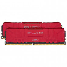 Ballistix Red 32 Go (2 x 16 Go) DDR4 2666 MHz CL16