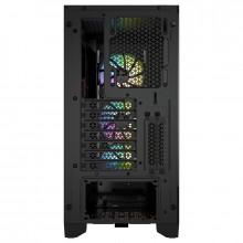 Corsair iCUE 4000X RGB Tempered Glass Noir