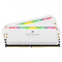 Corsair Dominator Platinum RGB 16 Go 2 x 8 Go DDR4 4000 MHz CL19 - Blanc
