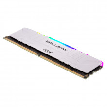 Ballistix White RGB DDR4 8 Go 1 x 16 Go 3200 MHz CL16