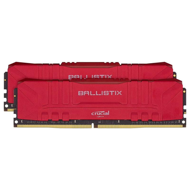 Ballistix Red 32 Go 2 x 16 Go DDR4 3200 MHz CL16