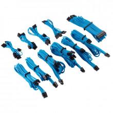 Corsair Kit pro de câbles pour alimentation à gainage individuel de type 4 Gen 4 Premium – bleu