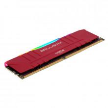 Ballistix Red RGB DDR4 16 Go (1 x 16 Go) 3000 MHz CL15 Bulk