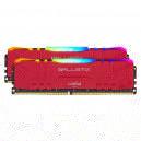 Ballistix Red RGB DDR4 32 Go (2 x 16 Go) 3000 MHz CL15