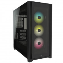 Corsair iCUE 5000X RGB Tempered Glass (Noir)