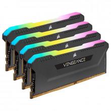 Corsair Vengeance RGB PRO SL Series 32 Go (4 x 8 Go) DDR4 3600 MHz CL18 - Noir