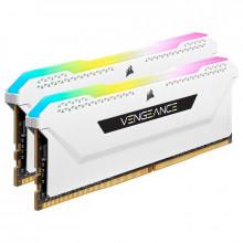 Corsair Vengeance RGB PRO SL Series 32 Go (2 x 16 Go) DDR4 3200 MHz CL16 - Blanc