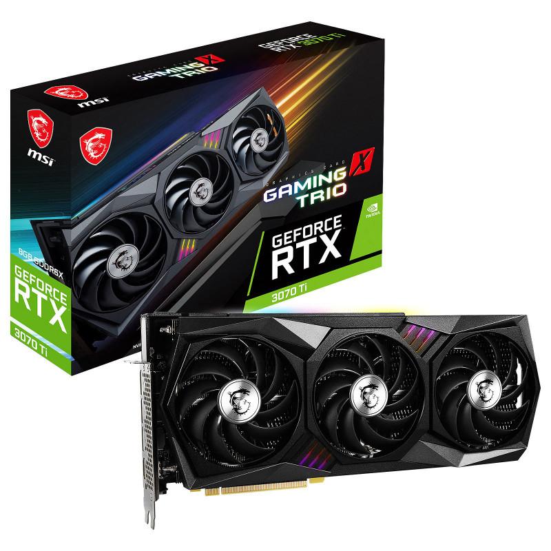 MSI GeForce RTX 3070 Ti GAMING X TRIO 8G