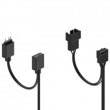 Fractal Design Aspect 14 RGB PWM 3-Pack Noir