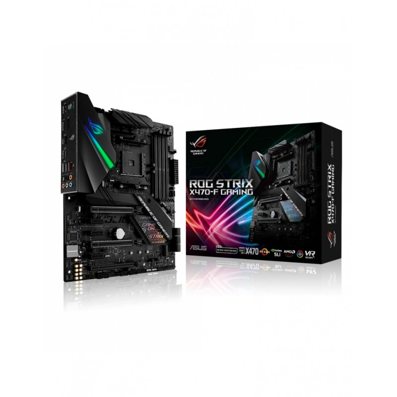 Carte mère Asus ROG Strix X470-F Gaming