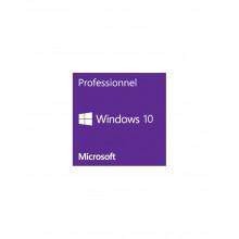 Microsoft Windows 10 Professionnel 64 bits  (licence)