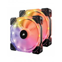 Corsair HD140 RGB LED ventilateur Dual fan controller...