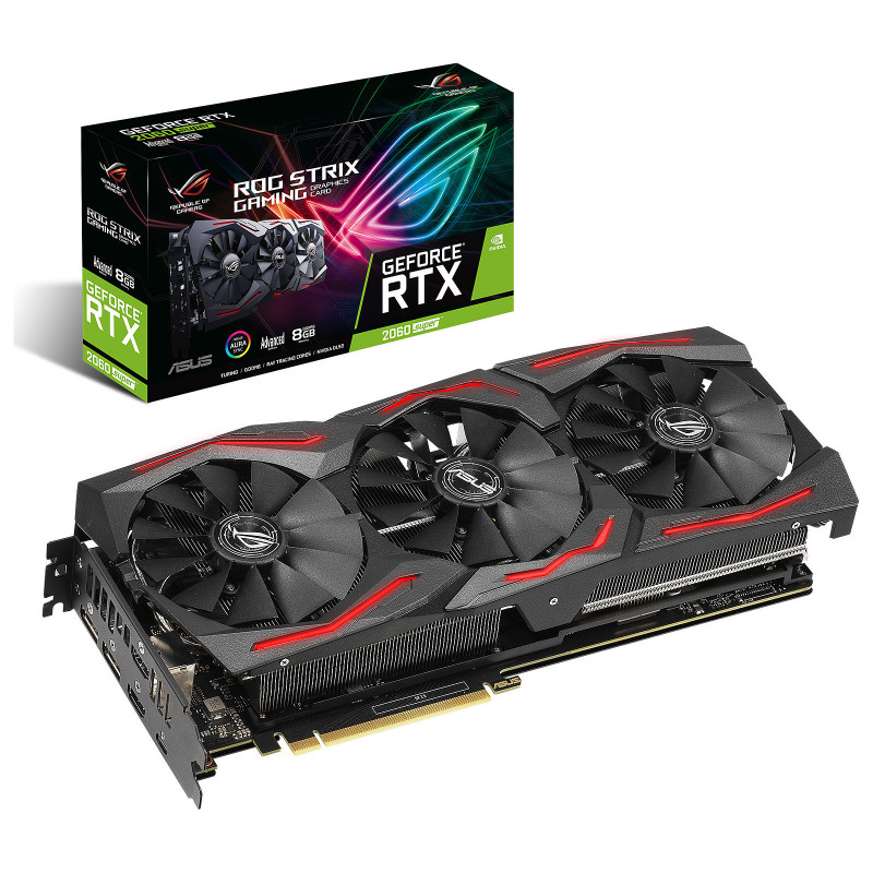 ASUS GeForce RTX 2060 SUPER ROG-STRIX-RTX2060S-A8G-GAMING