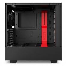 NZXT H500i (noir/rouge)