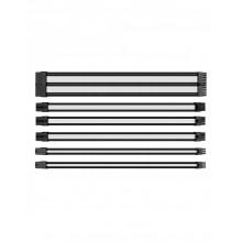 Câbles d'extension gainés Thermaltake Noir et Blanc