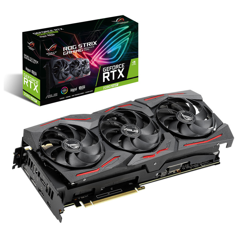 ASUS GeForce RTX 2080 SUPER ROG-STRIX-RTX2080S-A8G-GAMING