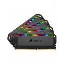 Mémoire DDR4 3000 64G 4x16G CORSAIR CMT64GX4M4C3000C15 Dom.Pla. RGB