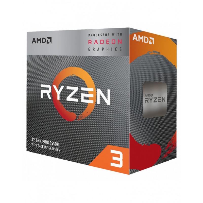AMD RYZEN3 3200G Socket AM4 3.6Ghz+4MB