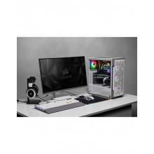 CORSAIR iCUE 220T RGB Airflow ATX Blanc