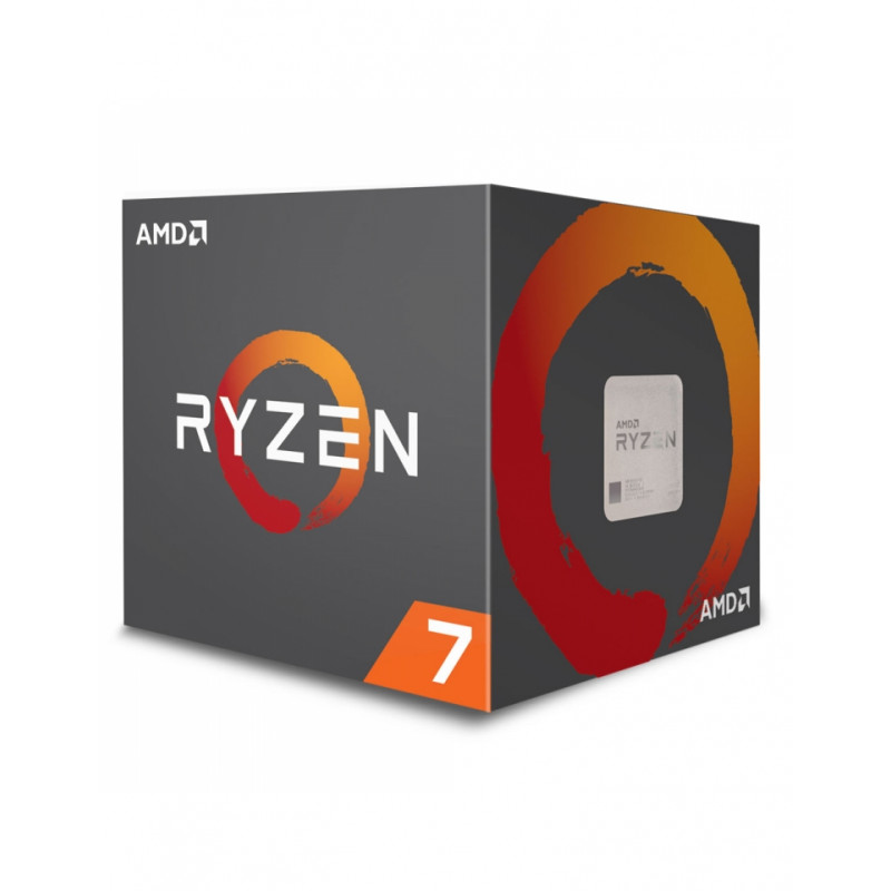 AMD RYZEN 7 2700X Socket AM4 + Ventilateur