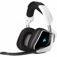 Corsair VOID RGB ELITE avec son surround 7.1 — Blanc