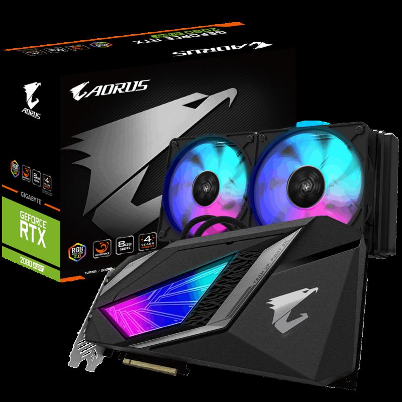 Gigabyte AORUS GeForce® RTX 2080 SUPER™ WATERFORCE 8G