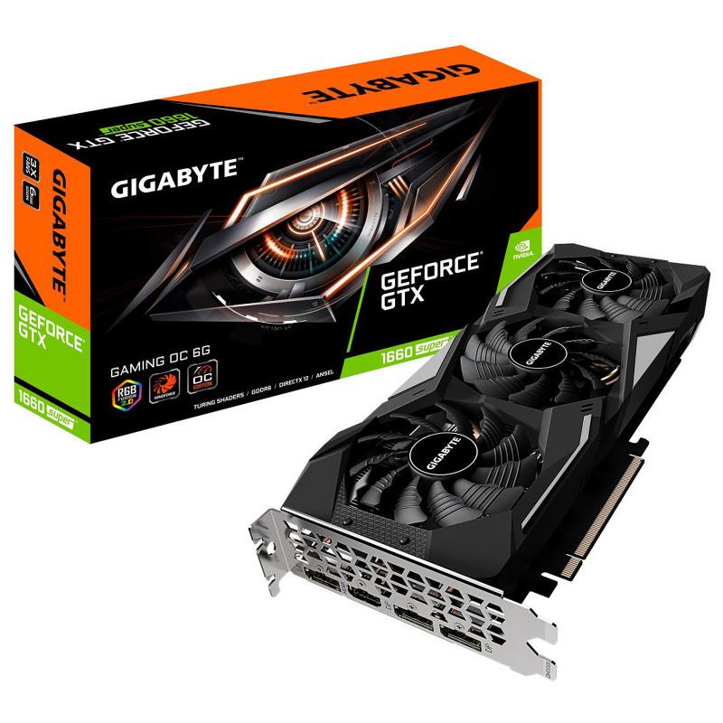 Gigabyte GeForce GTX 1660 SUPER GAMING OC 6G GV-N166SGAMING OC-6GD