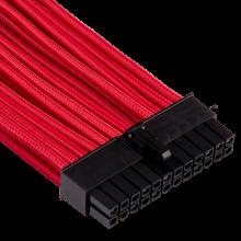 Corsair Kit pro de câbles pour alimentation à gainage individuel de type 4 Gen 4 Premium – rouge CP-8920223