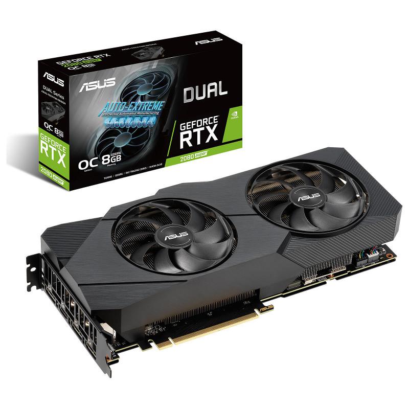 ASUS GeForce RTX 2080 SUPER DUAL-RTX2080S-O8G-EVO