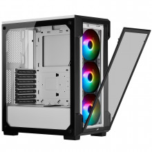 Corsair iCUE 220T RGB Tempered Glass (Blanc)
