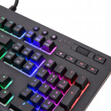 Clavier Thermaltake X1 RGB Cherry Silver