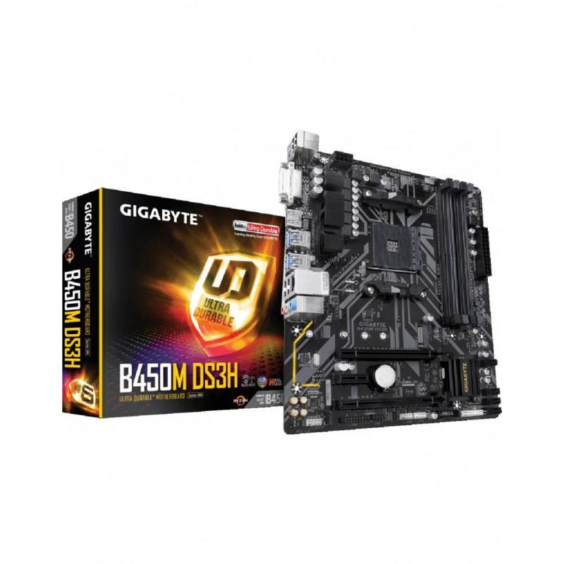 GIGABYTE GA-B450M-DS3H AM4/B450/4D4/M-ATX
