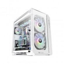 THERMALTAKE View 51 TG ARGB Snow CA-1Q6-00M6WN-00