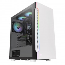 Thermaltake H200 Tempered Glass Snow RGB