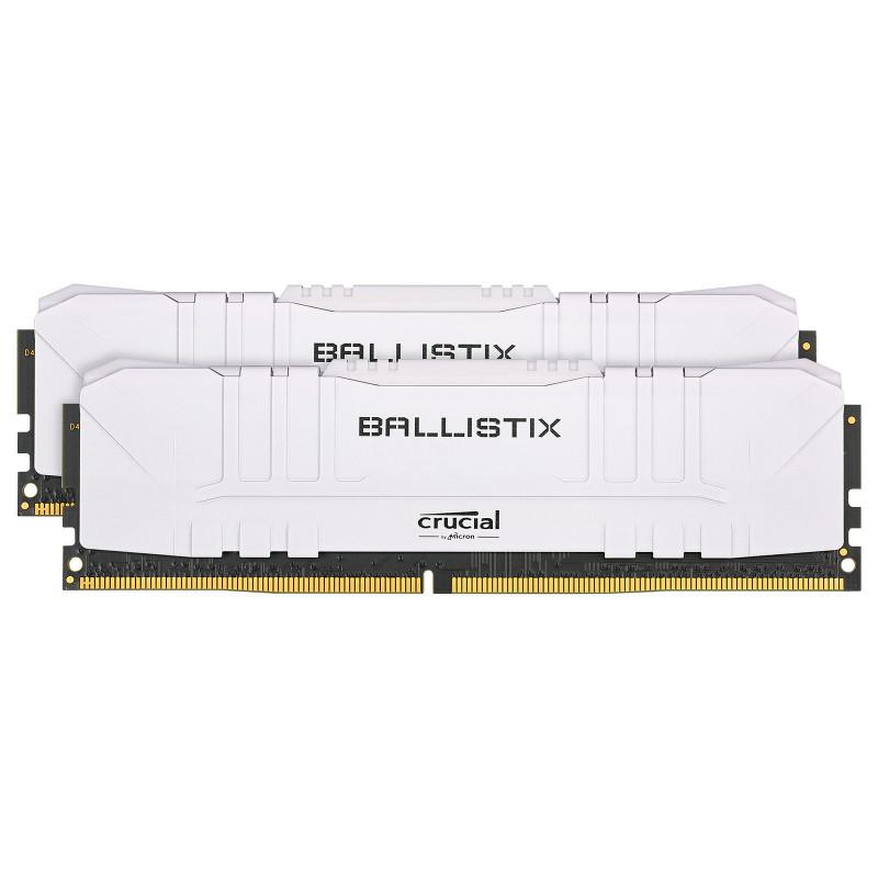 Ballistix White 16 Go (2 x 8 Go) DDR4 3000 MHz CL15