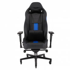 CORSAIR T2 ROAD WARRIOR Gaming Chair — Black/Blue