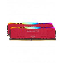 Crucial Ballistix Red  RGB 16Go 2x8Go 3600MHz