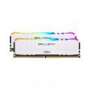 Crucial Ballistix White RGB 2x16Go 3200MHz