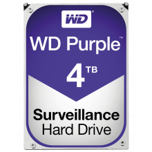Western Digital WD Purple Surveillance Hard Drive 4 To SATA 6Gb/s