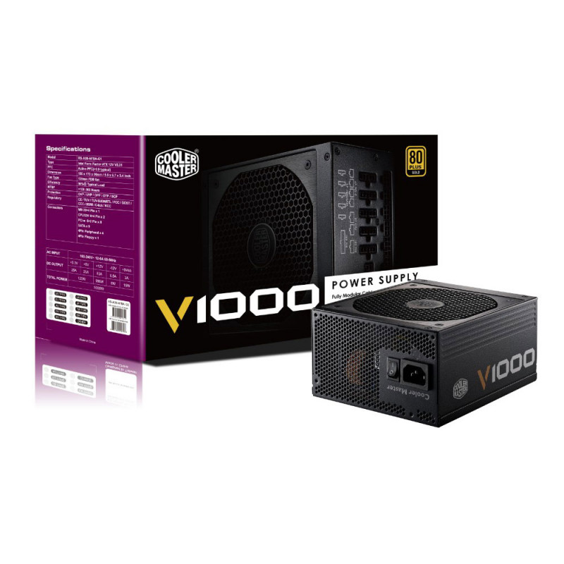 Cooler Master V1000 80PLUS Gold