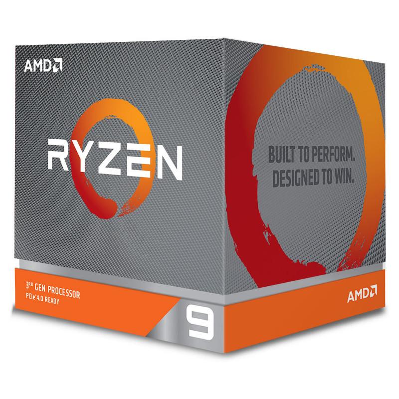 AMD RYZEN9 3900 AM4 3.1Ghz+64MB 100-100000070MPK